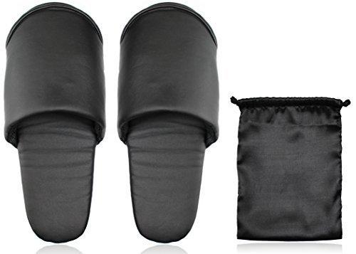 メンズ携帯スリッパ水拭きOKで28cmまで対応 (メンズ, ブラック),入園式,スリッパ,