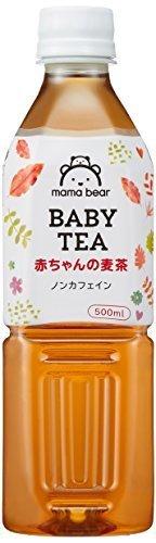 [Amazonブランド]Mama Bear 赤ちゃんの麦茶 ノンカフェイン 500ml×24本,アマゾン,ブランド,