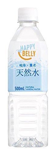 [Amazonブランド]Happy Belly 天然水 岐阜・養老 500ml×24本,アマゾン,ブランド,