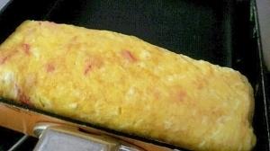 卵2個でお弁当にも✿白だしで❤カニカマの卵焼き,卵,お弁当,