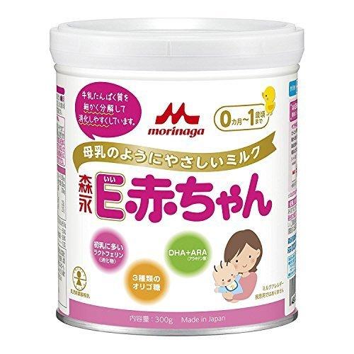 森永乳業 E赤ちゃん 小缶 300g,ランキング,粉ミルク,混合(主に母乳)
