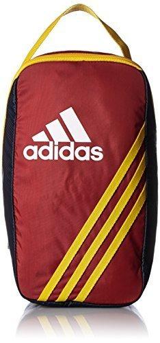 [アディダス] adidas キッズシューケース BBW30 AP3429 (パワーレッド/カレッジネイビー),上履き袋,