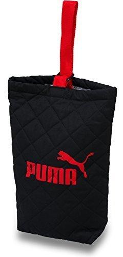 プーマ PUMA キルト シューズバッグ PM127 (ブラック),上履き袋,