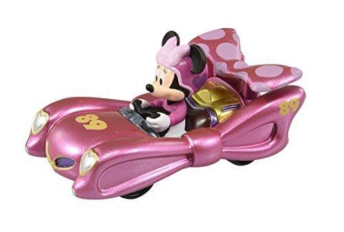 トミカ ディズニー ミッキーマウスとロードレーサーズ MRR-5 ピンク・サンダー ミニーマウス,ミニカー,おもちゃ,