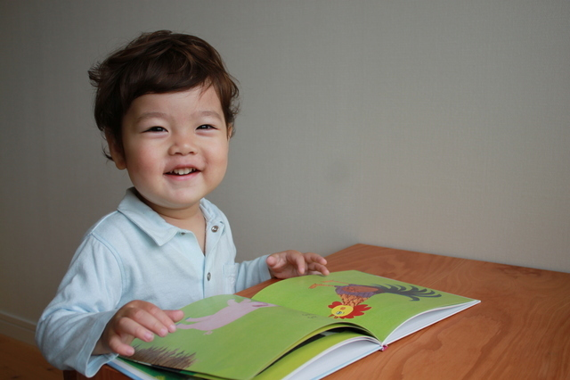 笑顔で絵本,読み聞かせ,絵本,