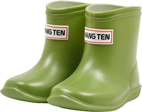 HANG TEN ハンテン ベビー レインブーツ 男の子 女の子 HT4828 グリーン 13.0cm,ベビー,レインブーツ,