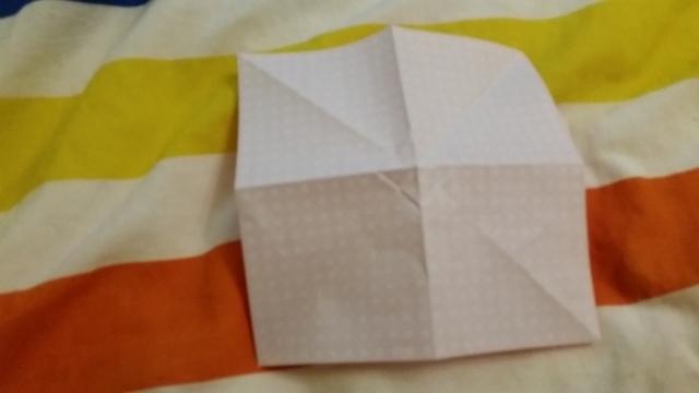 折り紙リボン折り方6,折り紙,リボン,