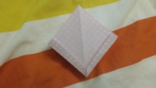 折り紙リボン折り方9,折り紙,リボン,