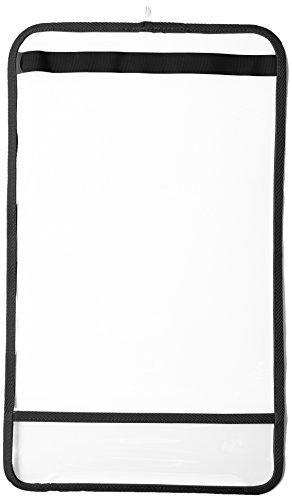 [マモルチャン] Mamoruchan キッズ まもるちゃん 透明ランドセルカバー Lサイズ RT-1502 クロ (クロ),ランドセルカバー,