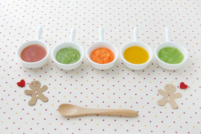 離乳食初期のペースト,白菜,離乳食,
