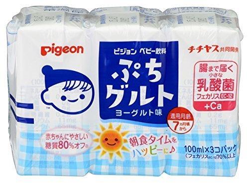 ピジョン ぷちグルト ヨーグルト味 100ml 3個パック×4個,赤ちゃん,飲み物,