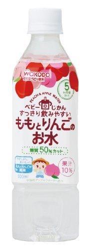 ベビーのじかん ももとりんごのお水 500ml×24本,赤ちゃん,飲み物,