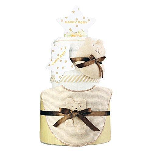 今治タオル imabari towel 出産祝い 日本製 オーガニック 2段 おむつケーキ シフィール パンパースS,出産祝い,タオル,