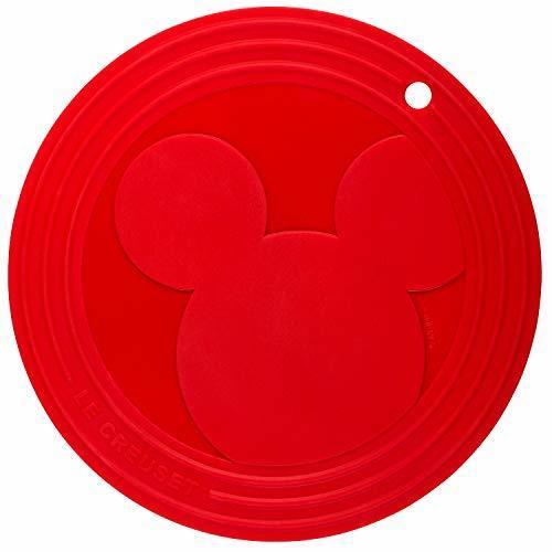 ルクルーゼ ミッキーマウス トリベット 鍋敷き チェリーレッド 19.5cm 930073-00-06,ル・クルーゼ ,ベビー,