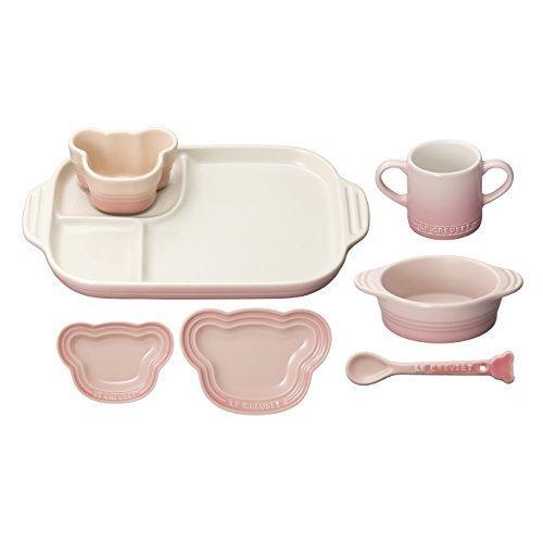 ルクルーゼ ベビー テーブルウェア セット 子供用 食器セット 耐熱 ミルキーピンク 910427-00-176,ル・クルーゼ ,ベビー,