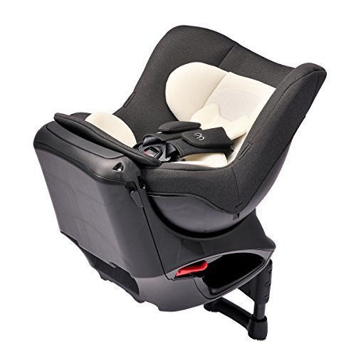 エールベベ 『日本製・安心トリプル保証付』回転型チャイルドシート 360ターンSIII 【シートベルト取付】 新生児から4歳用(360度回転型) ナチュラルブラック ALB802,ランキング,チャイルドシート,軽自動車