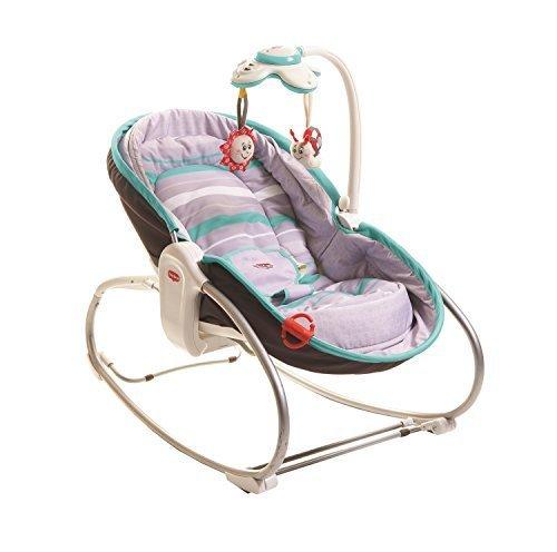 日本育児 Tiny Love ベビーラック 3in1 おひるねロッキング・ナッパー グレーターコイズ 新生児~18kg対象 1台3役のベビーシート,ランキング,バウンサー・ベビーラック,デザイン