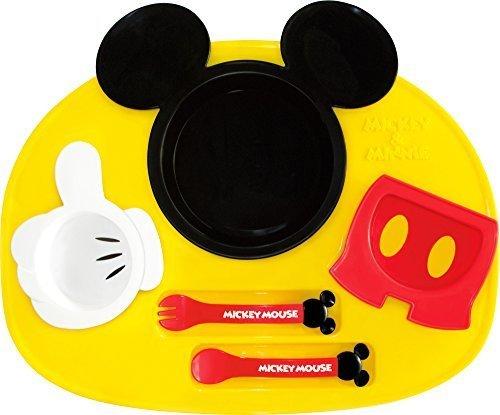 錦化成 ディズニー ミッキーマウス アイコン ランチプレート,離乳食,お好み焼き,