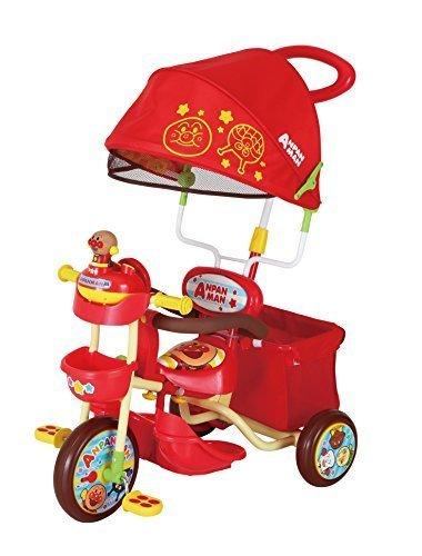 三輪車 それいけ!アンパンマンデラックスII レッド,赤ちゃん,三輪車,