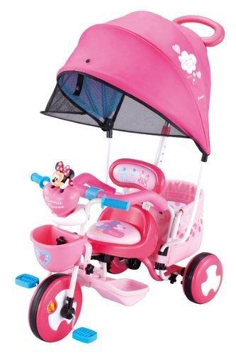 アイベーシック アイデスカーゴ ドーム ミニーマウス,赤ちゃん,三輪車,