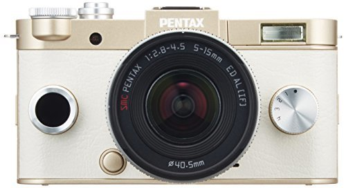 PENTAX ミラーレス一眼 Q-S1 ズームレンズキット [標準ズーム 02 STANDARD ZOOM] ゴールド 06239,デジタルカメラ,おすすめ,