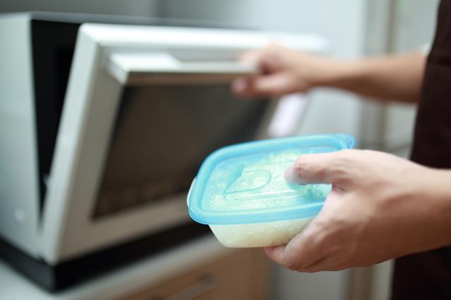 電子レンジで食品を解凍,離乳食,ストック,