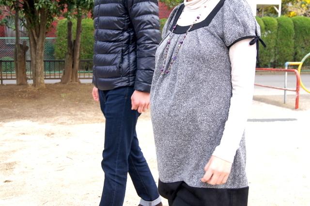 妊娠後期のお散歩,妊娠後期,