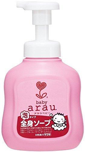 arau. アラウベビー 泡全身ソープ 本体 450ml,赤ちゃん,肌トラブル,保湿