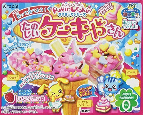 たのしいケーキやさん イチゴバニラ味 5個入 Box (食玩),知育菓子,