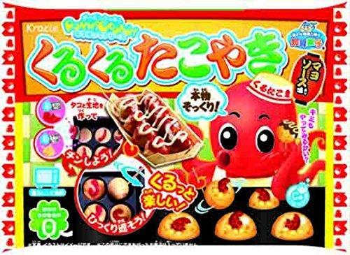 くるくるたこやき 10個入BOX (食玩・知育菓子),知育菓子,
