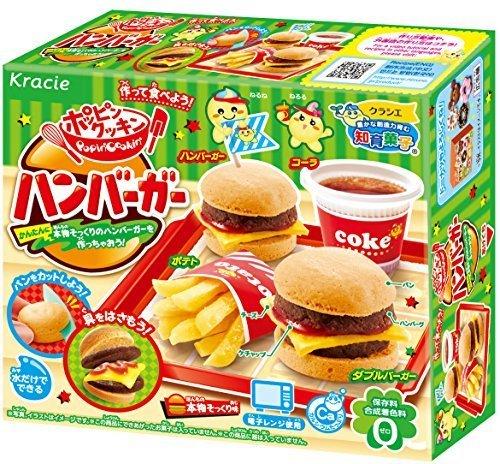 ポッピンクッキン ハンバーガー 5入 食玩・知育菓子,知育菓子,