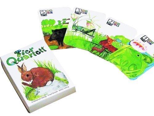 エバマリア・オットーハイドマン カードゲーム カルテット 動物,カードゲーム,人気,小学生