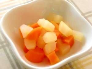 【離乳食後期】りんごと人参のレモン煮 ,離乳食,りんご,