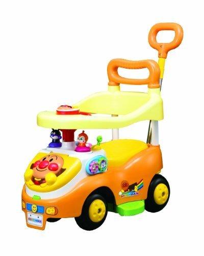 アンパンマン よくばりビジーカー2 押し棒+ガード付き,おもちゃ,乗り物,