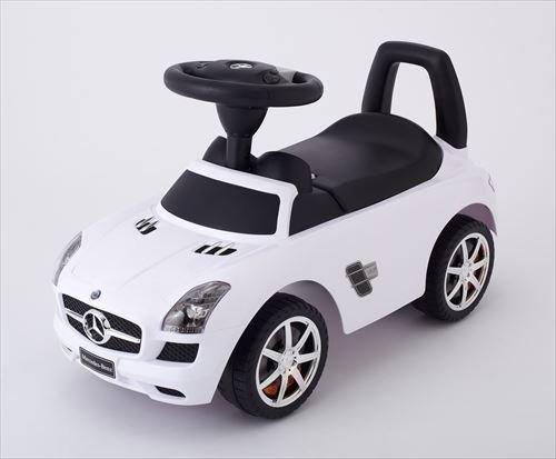 乗用 メルセデスベンツ SLS AMG ホワイト,おもちゃ,乗り物,