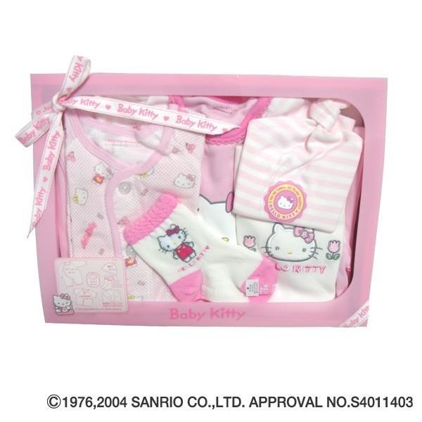 キティギフトセット|サンリオ,出産祝い,西松屋,