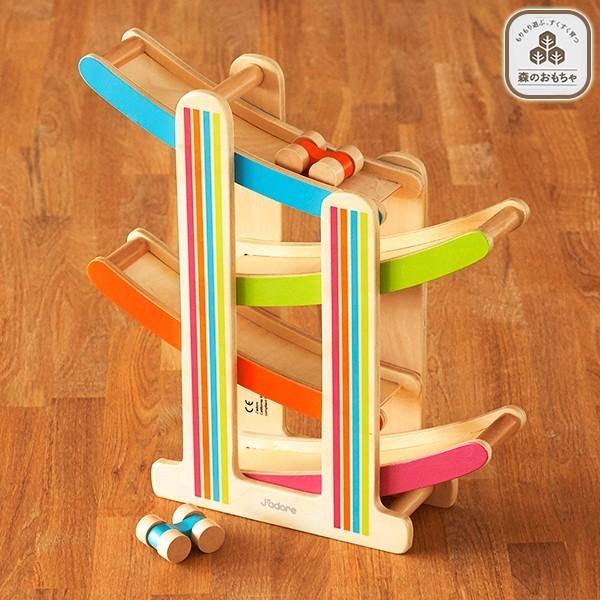 森のおもちゃ ころころスロープ|Smart Angel,出産祝い,西松屋,