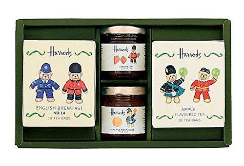 ハロッズ HARRODS 紅茶 ティーバッグ 紅茶 ジャム ロンドンベア セット ギフト,内祝い,紅茶,