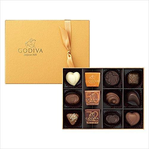 ゴディバ (GODIVA) ゴールドコレクション 12粒,バレンタイン,パパ,