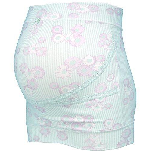 ローズマダム マタニティ妊婦帯 ミキティコラボ 【デイジー柄】 M-Lサイズ サックス 117-4930-01,出産準備リスト ,