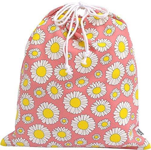 ルネ・デュー 北欧デザイン 巾着袋 Studio Hilla 大 デイジー ピンク 15430004,体操着袋,作り方,