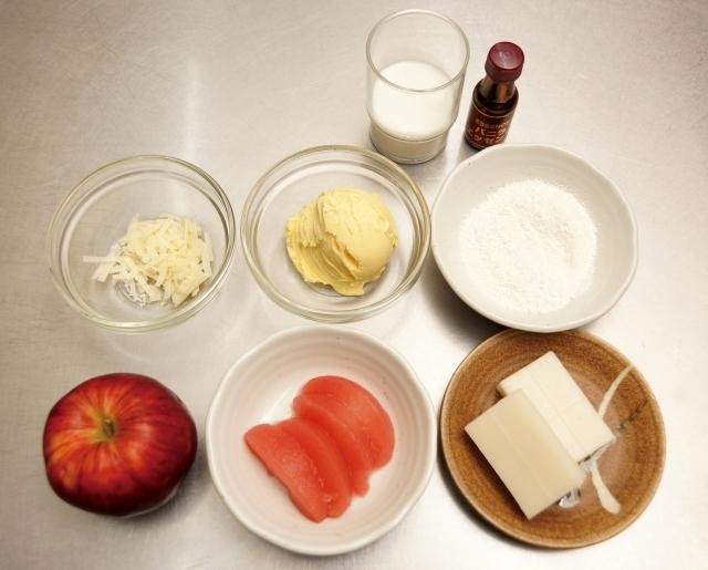 離乳食の材料,離乳食,ホワイトソース,