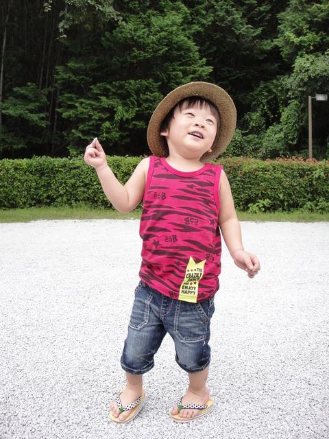 草履を履いた男の子,子ども,草履,