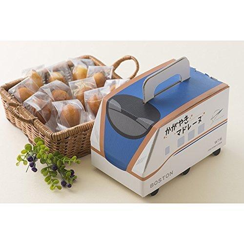 金澤BOSTON かがやきマドレーヌ 12個入,お菓子,パッケージ,