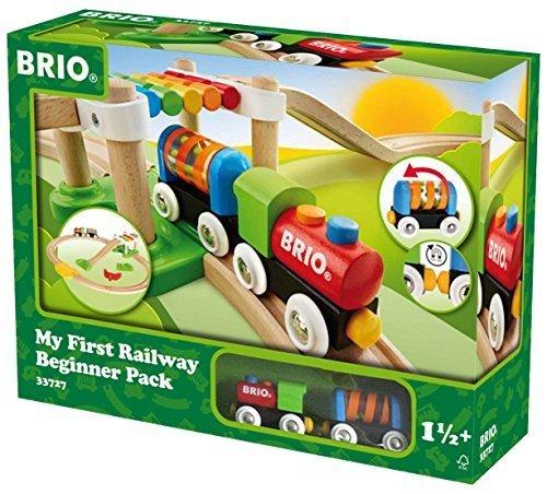 BRIO レールウェイ マイファースト ビギナーセット 33727,木のおもちゃ,海外,