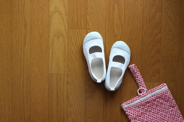 上履きと上履き袋,上履き袋,