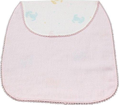 UCHINO BABY&KID'S BATH マシュマロガーゼ バニー 汗取りパッド ピンク,汗取りパッド,赤ちゃん,