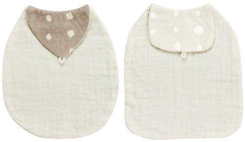 ナオミイトウ Naomi Ito POCHO オーガニックコットン 汗とりパット2枚セット ミルクセット 7558,汗取りパッド,赤ちゃん,