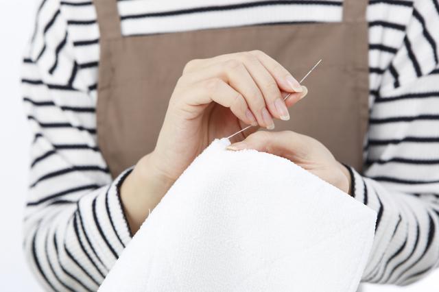 手縫い,汗取りパッド,赤ちゃん,
