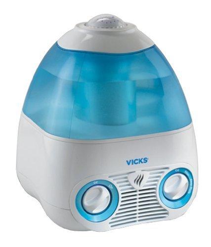 Kaz VICKS 気化式加湿器 【天井に七色の星が映る】 MODEL V3700,出産祝い,家電,